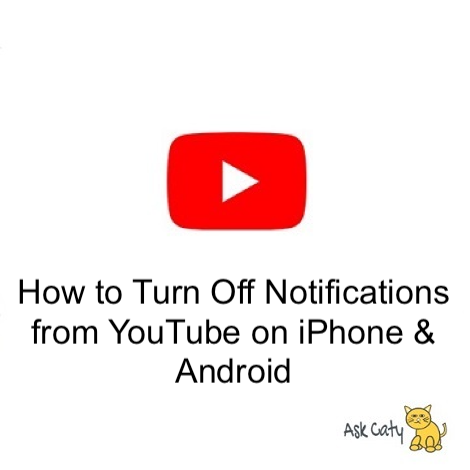 How to Turn Off Notifications from YouTube on iPhone & Android
