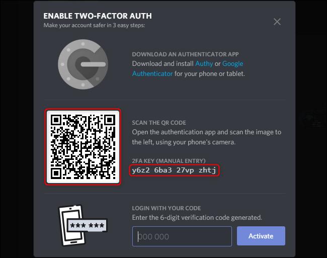 Google authenticator emergency codes