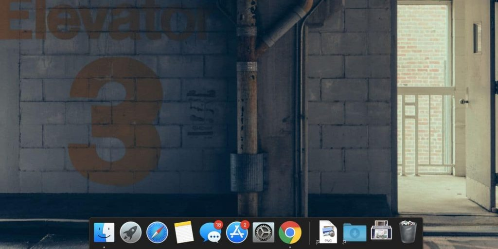 pin an icon on mac's dock by dragging and dropping it