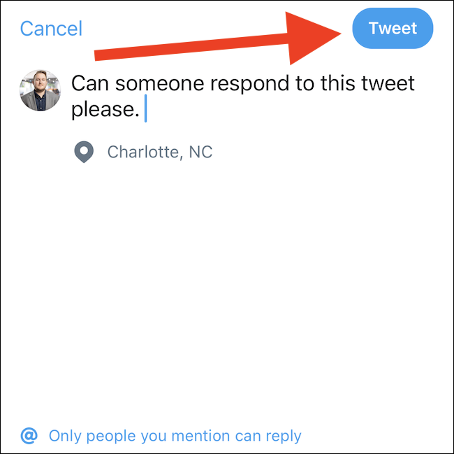 hit the tweet button to send a tweet on twitter