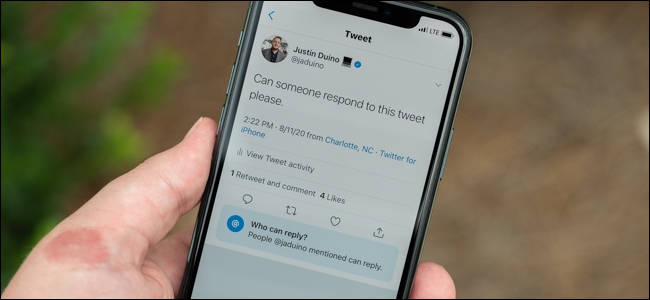 how to manage who can reply to your tweet on twitter