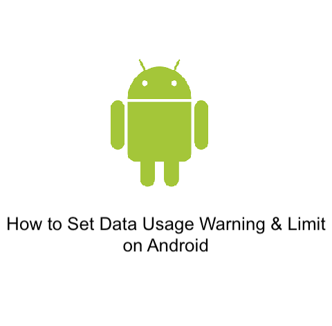 How to Set Data Usage Warning & Limit on Android