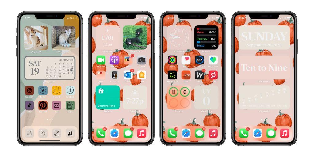 How to add custom created widget to Home Screen in iOS 14