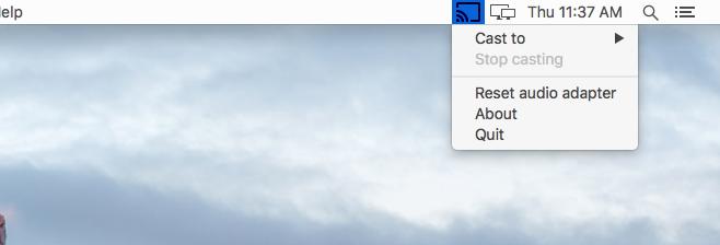 Chromecast for Mac