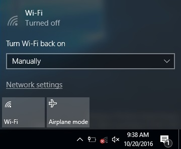 HOW TO AUTOMATICALLY TURN ON WI-FI IN WINDOWS 10