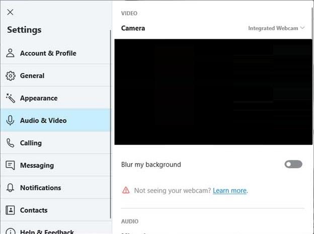 Bur my background in Skype video