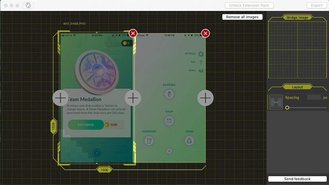 Tunacan to Stitch Photos on Mac OS
