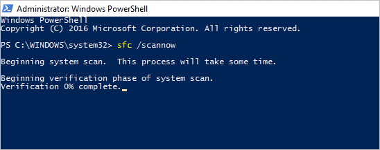 Windows 10 PowerShell to Find Issues