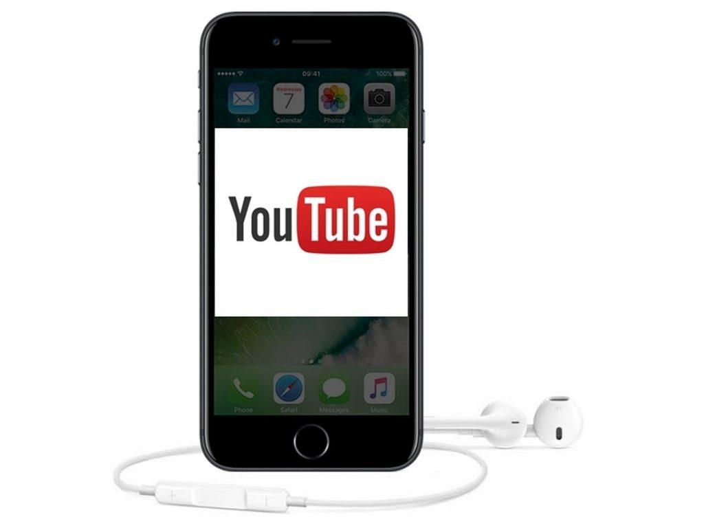 YouTube on iOS