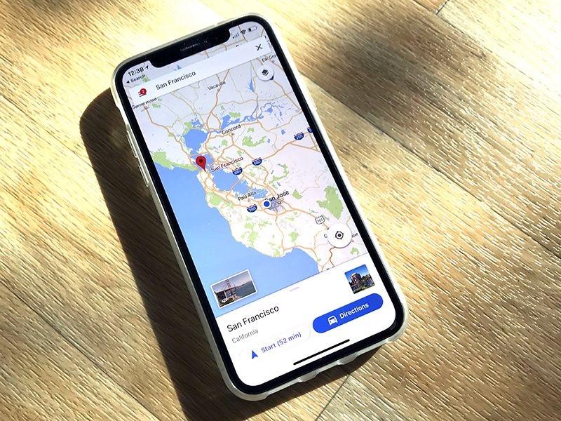 iOS 12 Maps