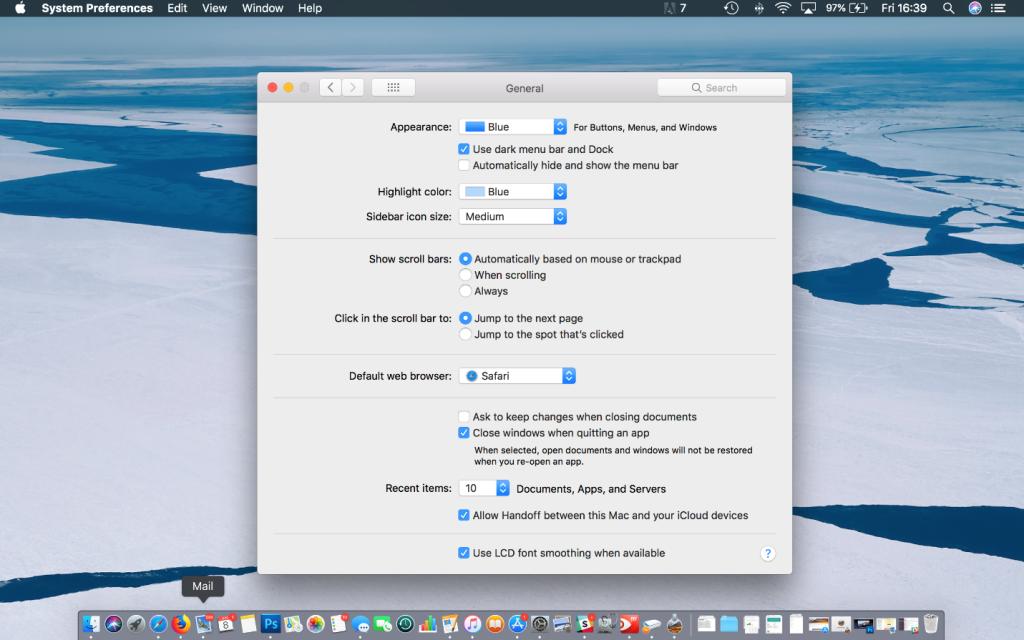 macOS Dark Mode