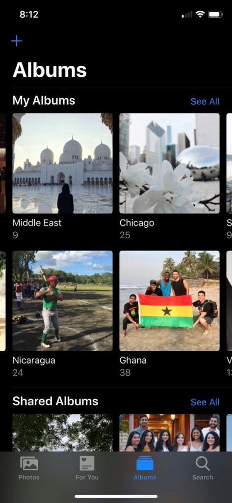iOS 13 Gallery