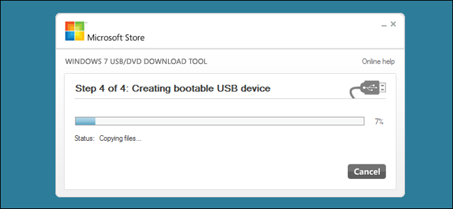 Creating Bootable usb device