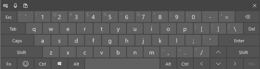 How to enable Text suggestions for Hardware Keyboard in Windows 10