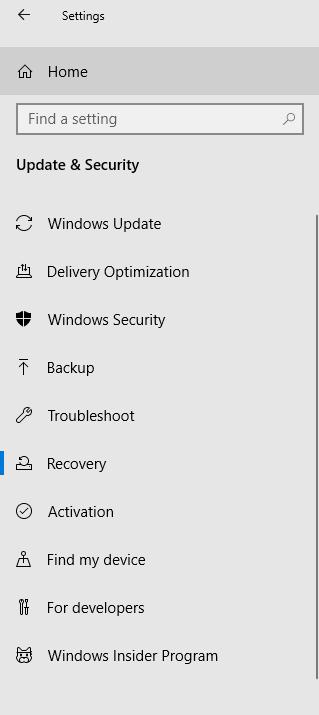 Updates & Security