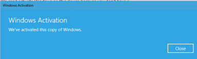Activated Windows