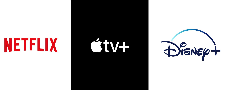 Apple Vs Netflix Vs Disney Plus