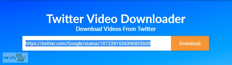 How to Download videos from Twitter on Desktop or PC