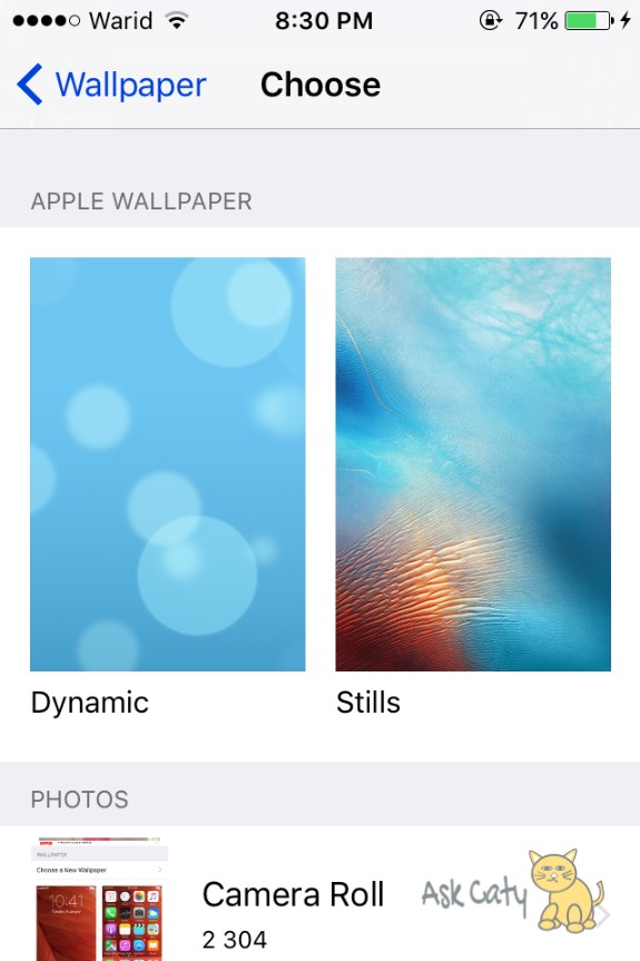 How to Set Dynamic Wallpaper on an iPhone or iPad 5