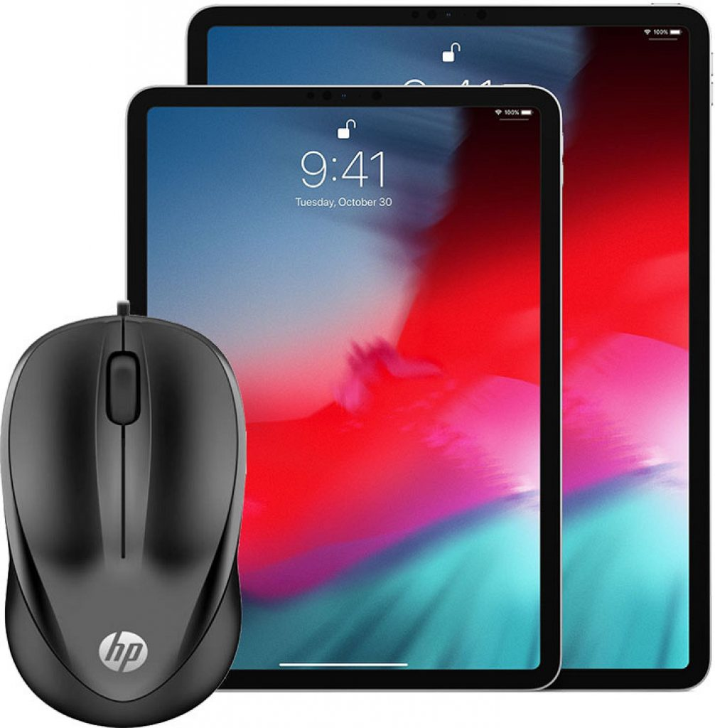 iOS 13 Mouse Support