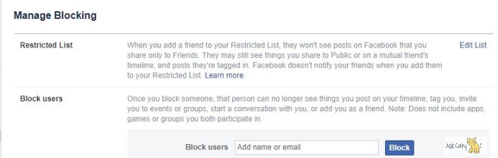 How to Block Someone on Facebook 3