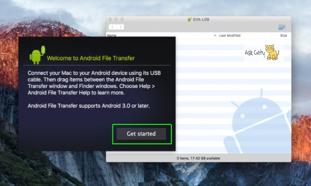 How to transfer files from Android to Mac OS- 2