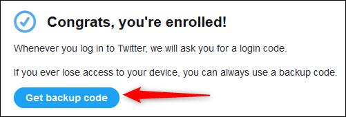 Congrats! you're enrolled