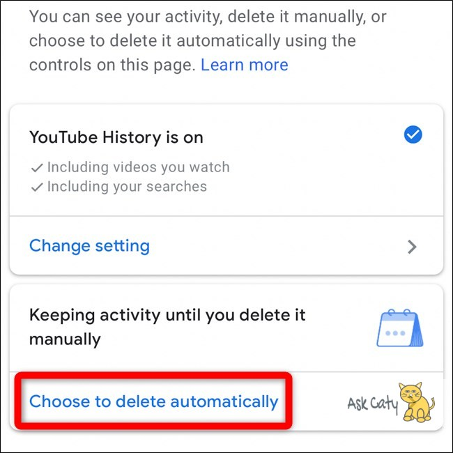 How to Automatically Delete Your Youtube History- 5