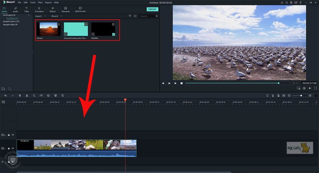 How to Combine Audio and Video-2