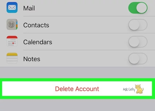 How to Remove an Email Account from an iPhone -4