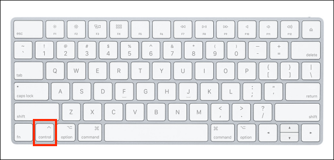 Right click using the keyboard