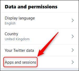 apps and sessions