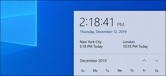 How to Insert Multiple Time Zone Clocks on Windows 10 Taskbar