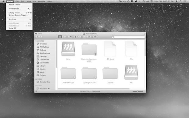 grayscale on mac