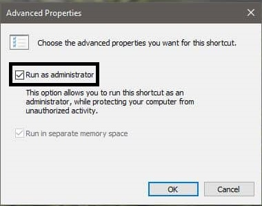 Always Run Command Prompt as Administrator