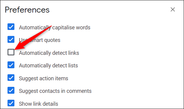 automatically detect links