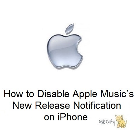 How to Disable Apple Music's New Release Notification on iPhone
