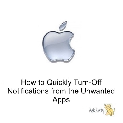 How to Quickly Turn-Off Notifications from the Unwanted Apps
