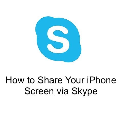 How to Share Your iPhone Screen via Skype