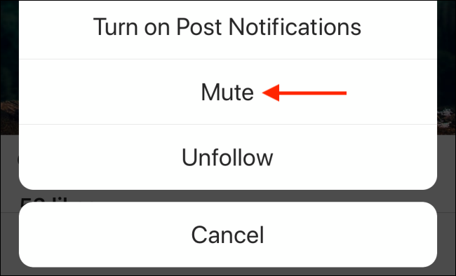 use the mute option from the menu button