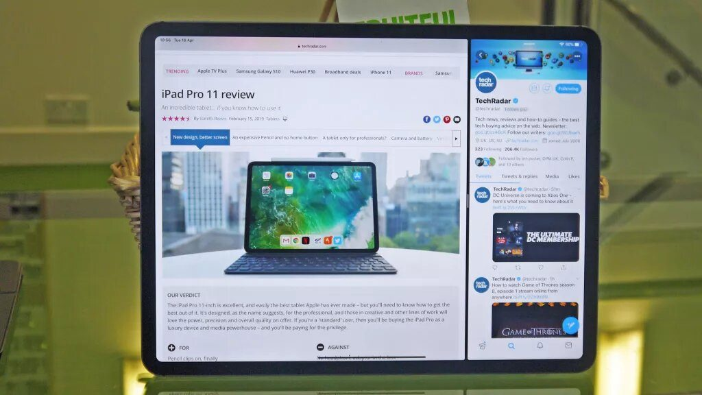 How to View Split Screen on iPad
