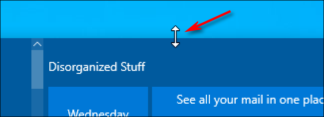 drag the mouse cursor diagonally to rezide the start menu size