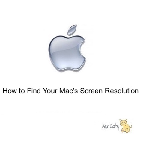 How to Find Your Mac's Screen Resolution