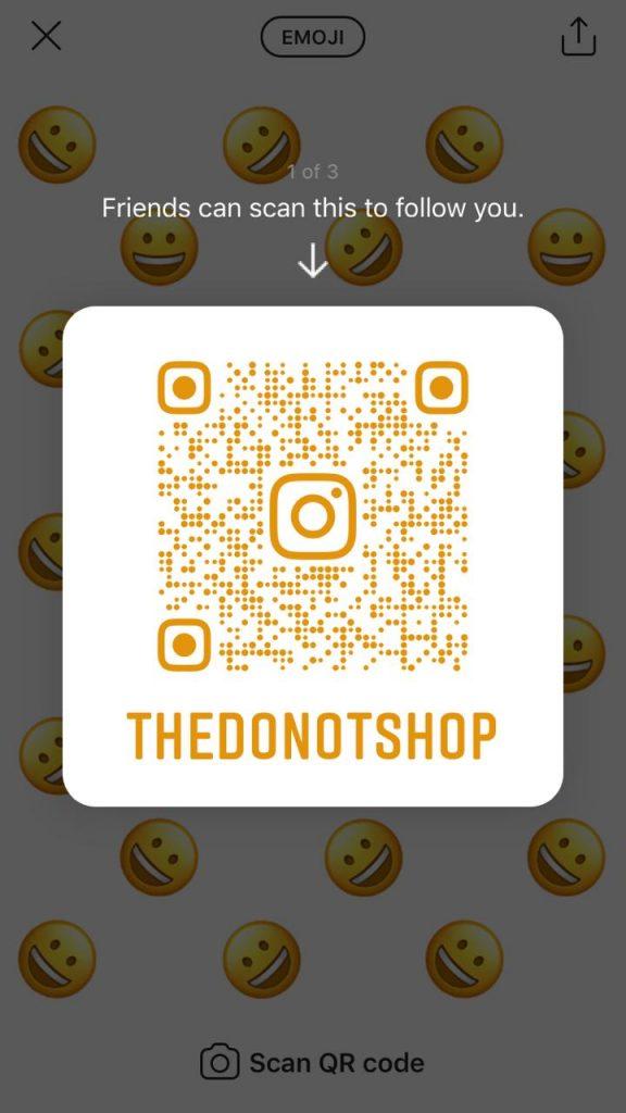 instagram account QR code