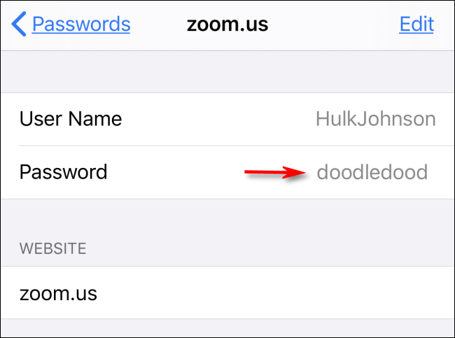 retrieving Saved passwords in Safari on Mac