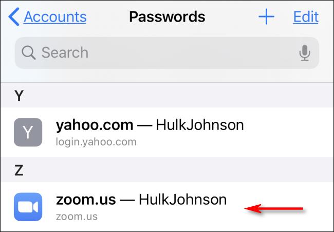 saved passwords in Safari on Mac