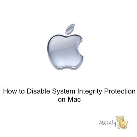 How to Disable System Integrity Protection on Mac