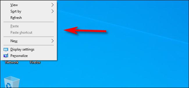 menu key will open context menu on the screen
