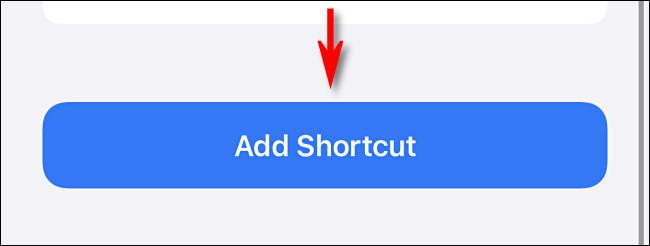 add shortcut button