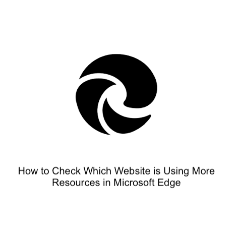 How to Check Which Website is Using More Resources in Microsoft Edge
